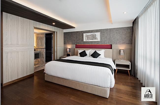 kontraktor interior hotel, el royale bandung